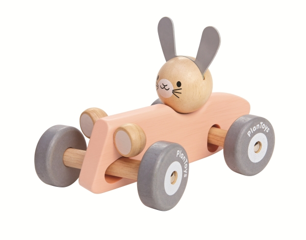 Bunny Racing Car