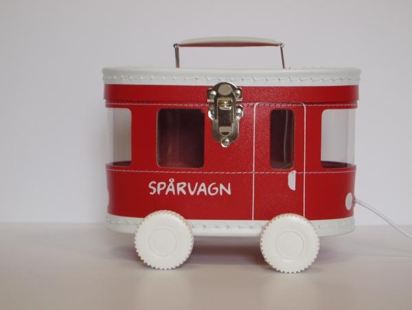 Väska Spårvagn Röd