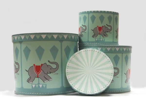 Boxset Elefant Karusell