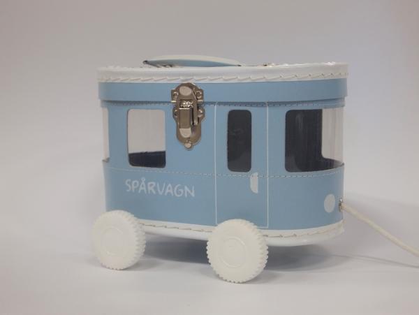 Väska Spårvagn Ljusblå