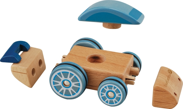 Ombyggbar bil
