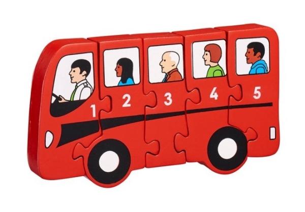Pussel Buss 1-5