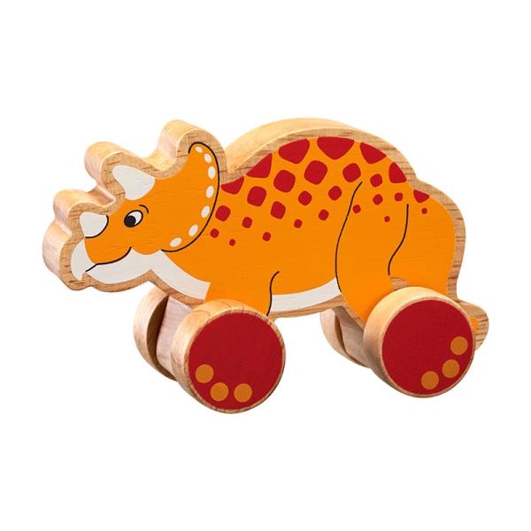 Triceratops på hjul