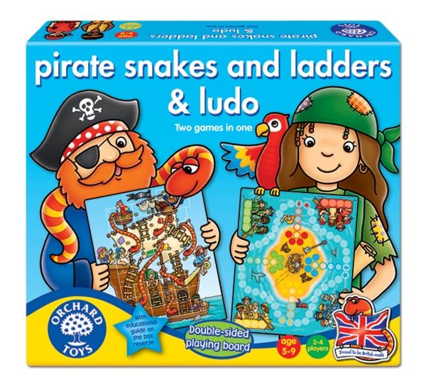 Sjörövare-snakes and ladders