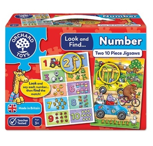 Look and Find Number