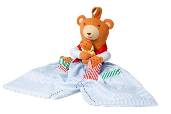 Pyjamaspåse - Nalle