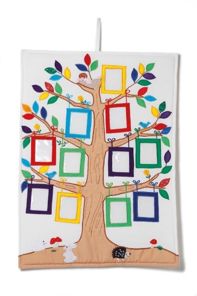 Släktträd - Starka färger