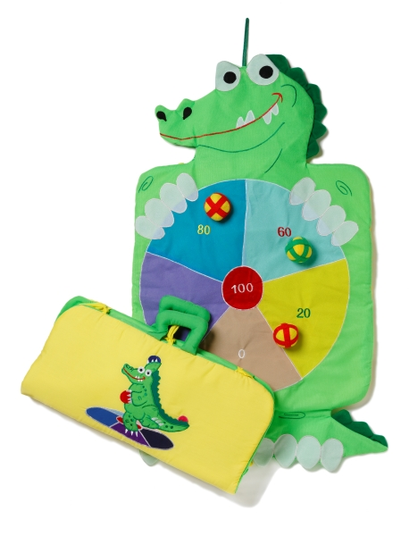 Dartspel Krokodil